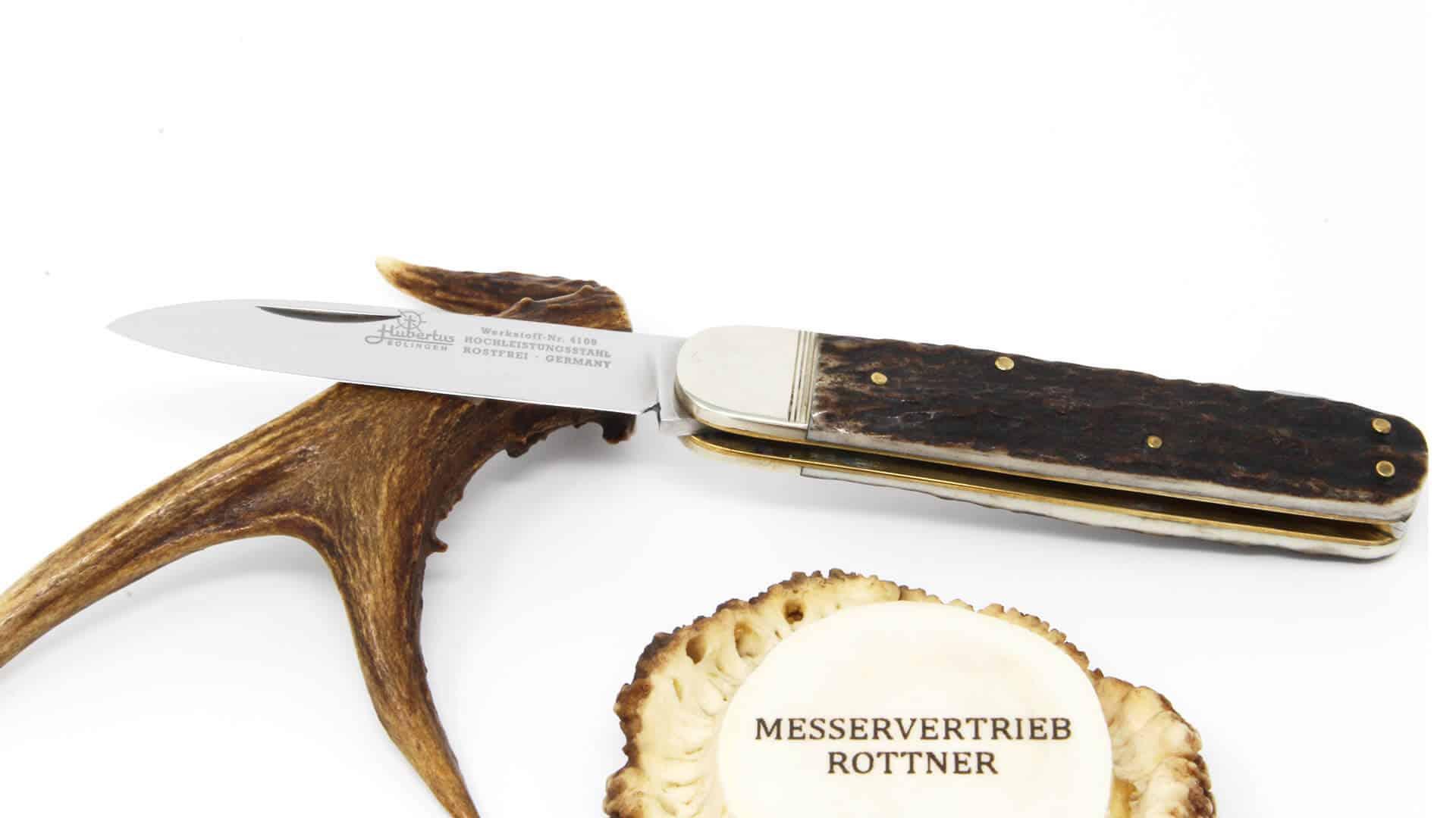Hubertus Serie 12 Jagdtaschenmesser Messervertrieb Rottner