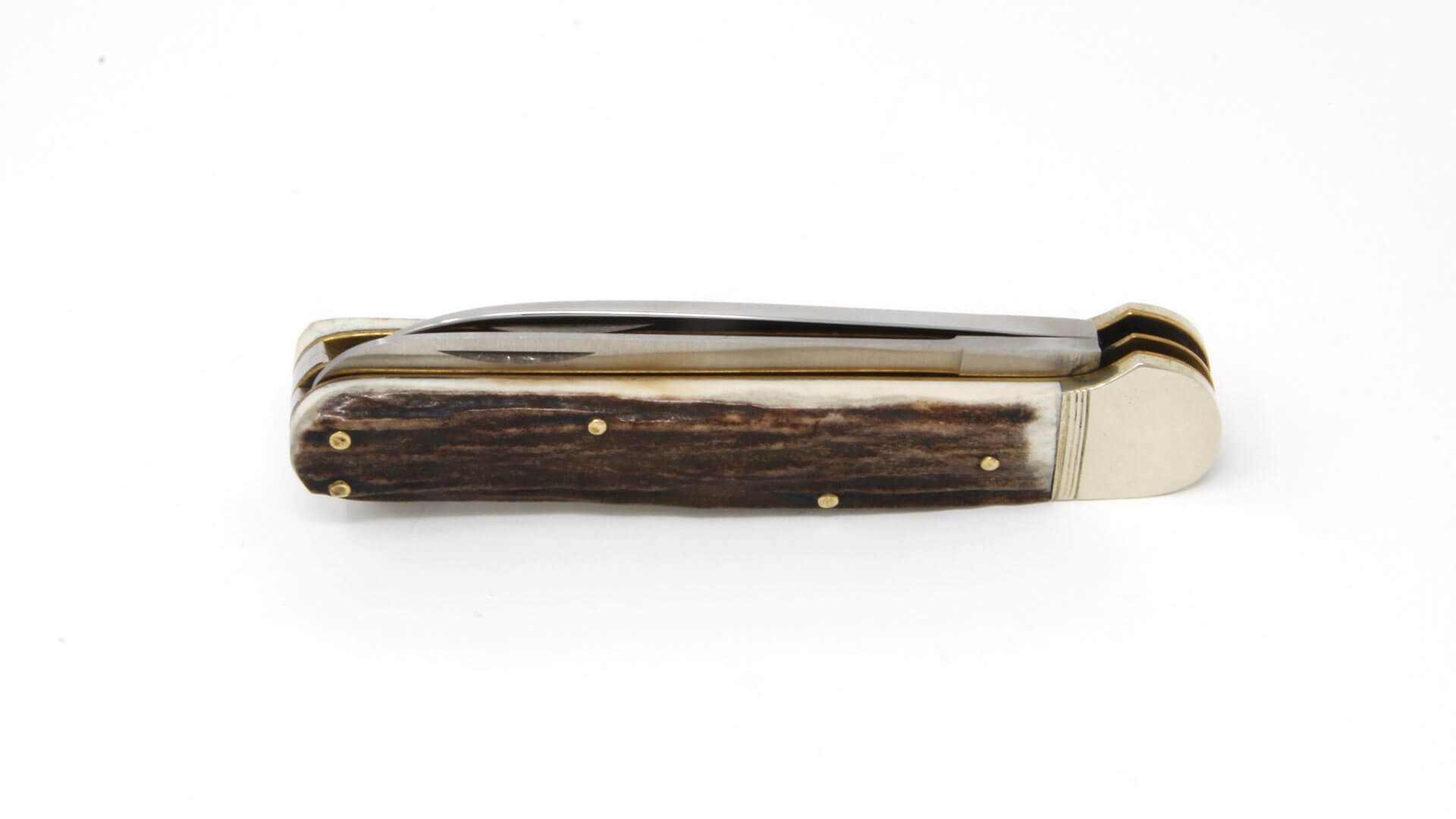 Hubertus Series 13 Hunting Pocket Knife Solingen with saw folded