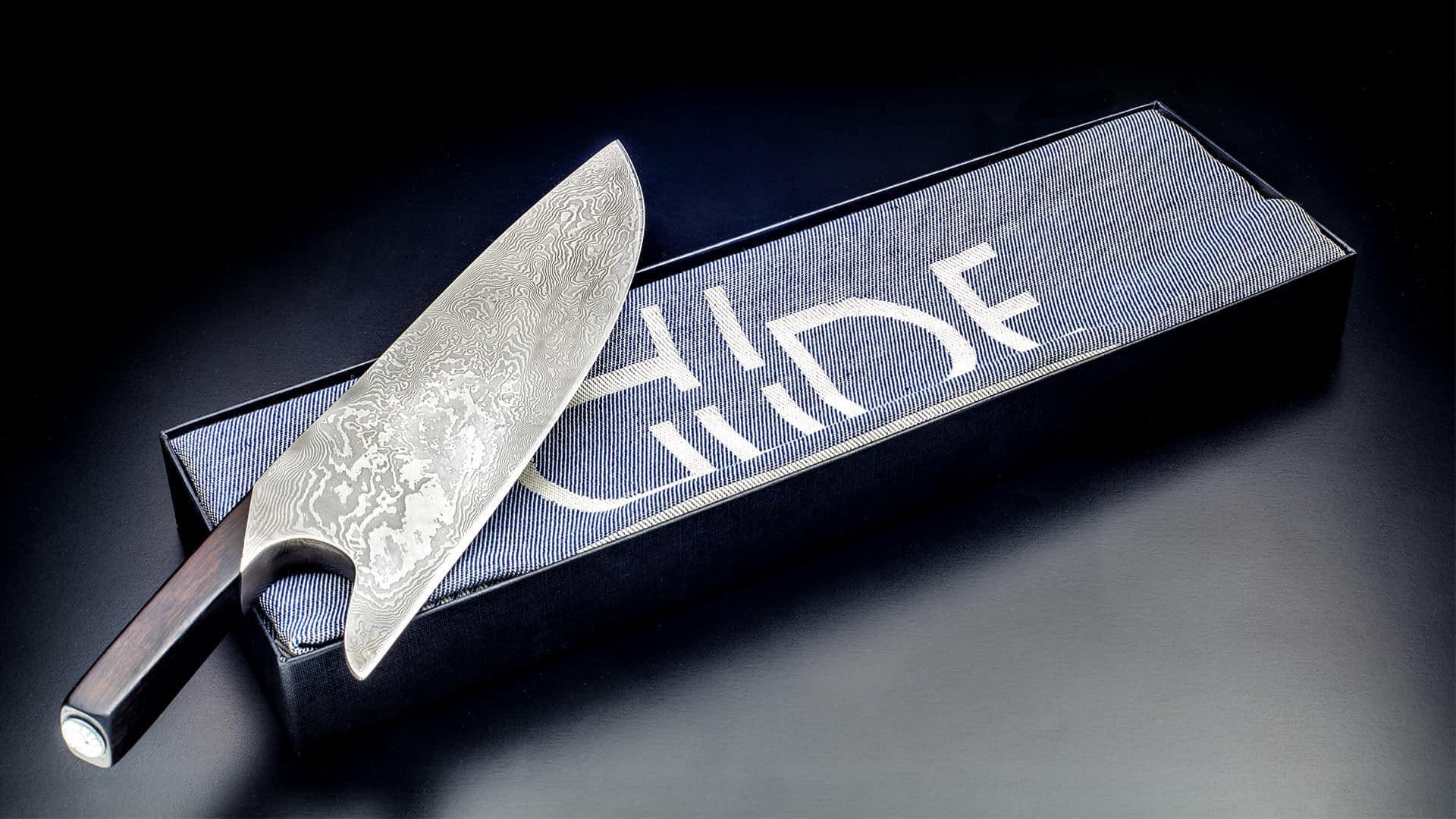 Güde Damastmesser The Knife Solingen